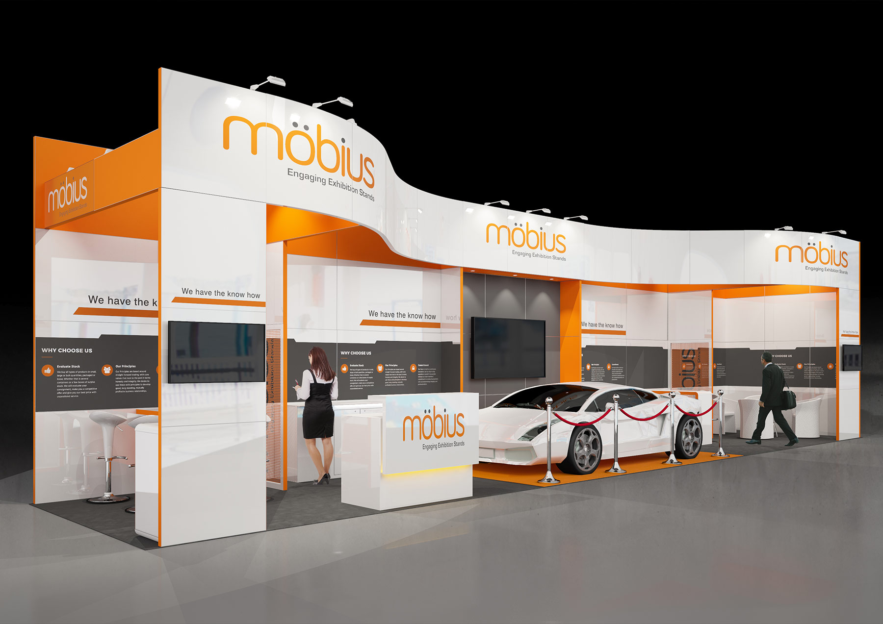 Small Exhibition Stand Goal : Are you looking for an environmentally friendly bespoke exhibition