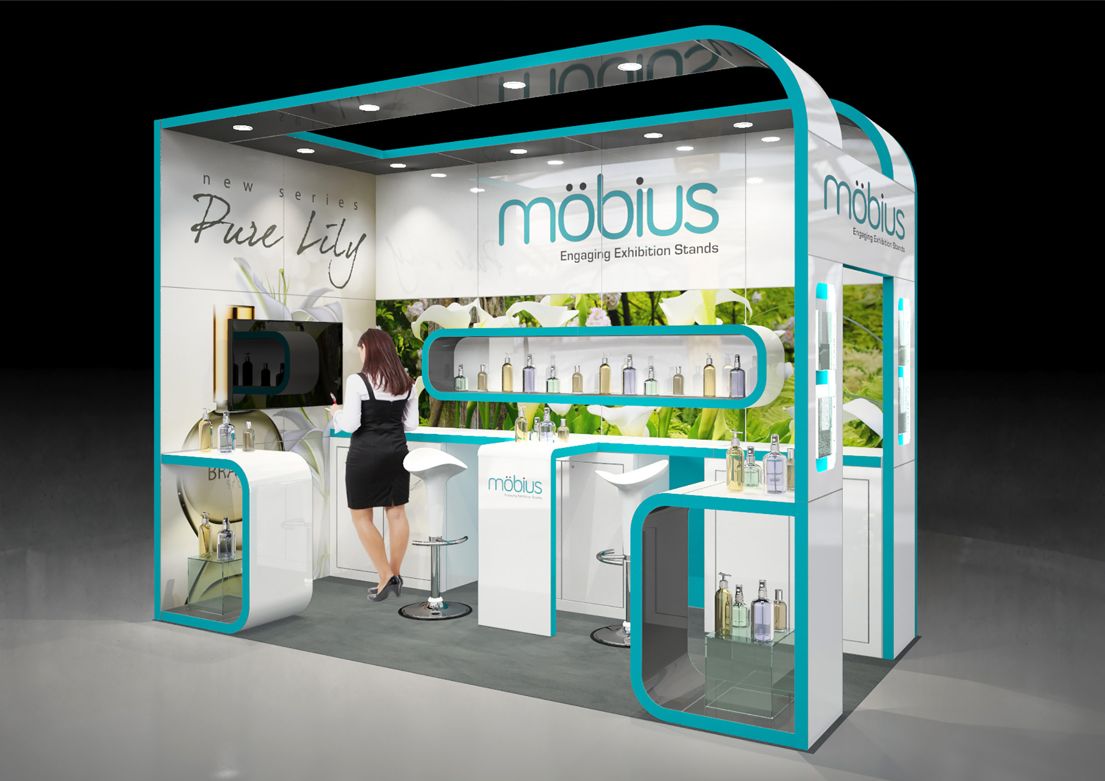 Exhibition Stand Risk Assessment Form : M open sides custom built stand love expo