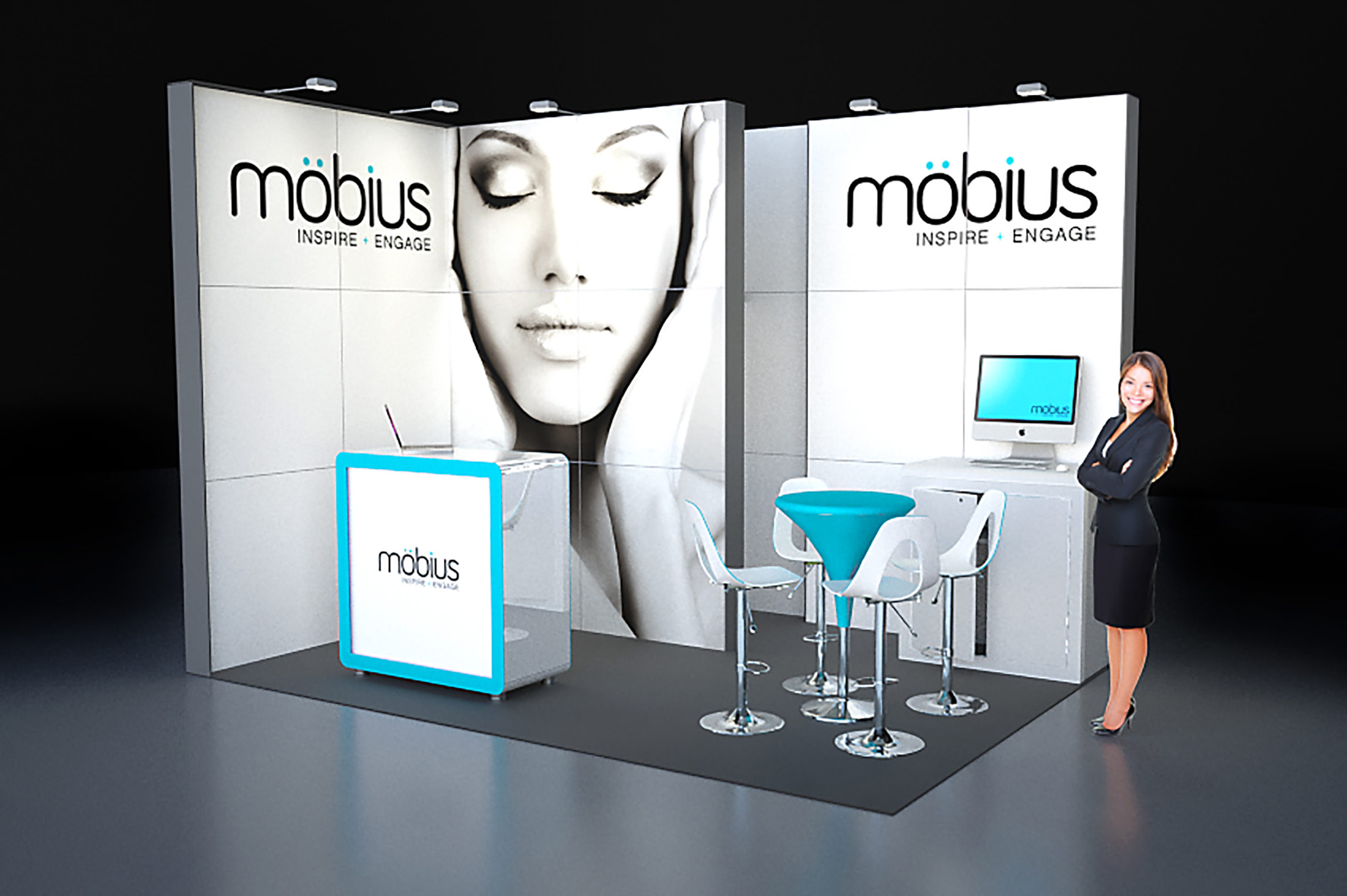 Exhibition Stand Risk Assessment Form : M custom built stand with open sides love expo