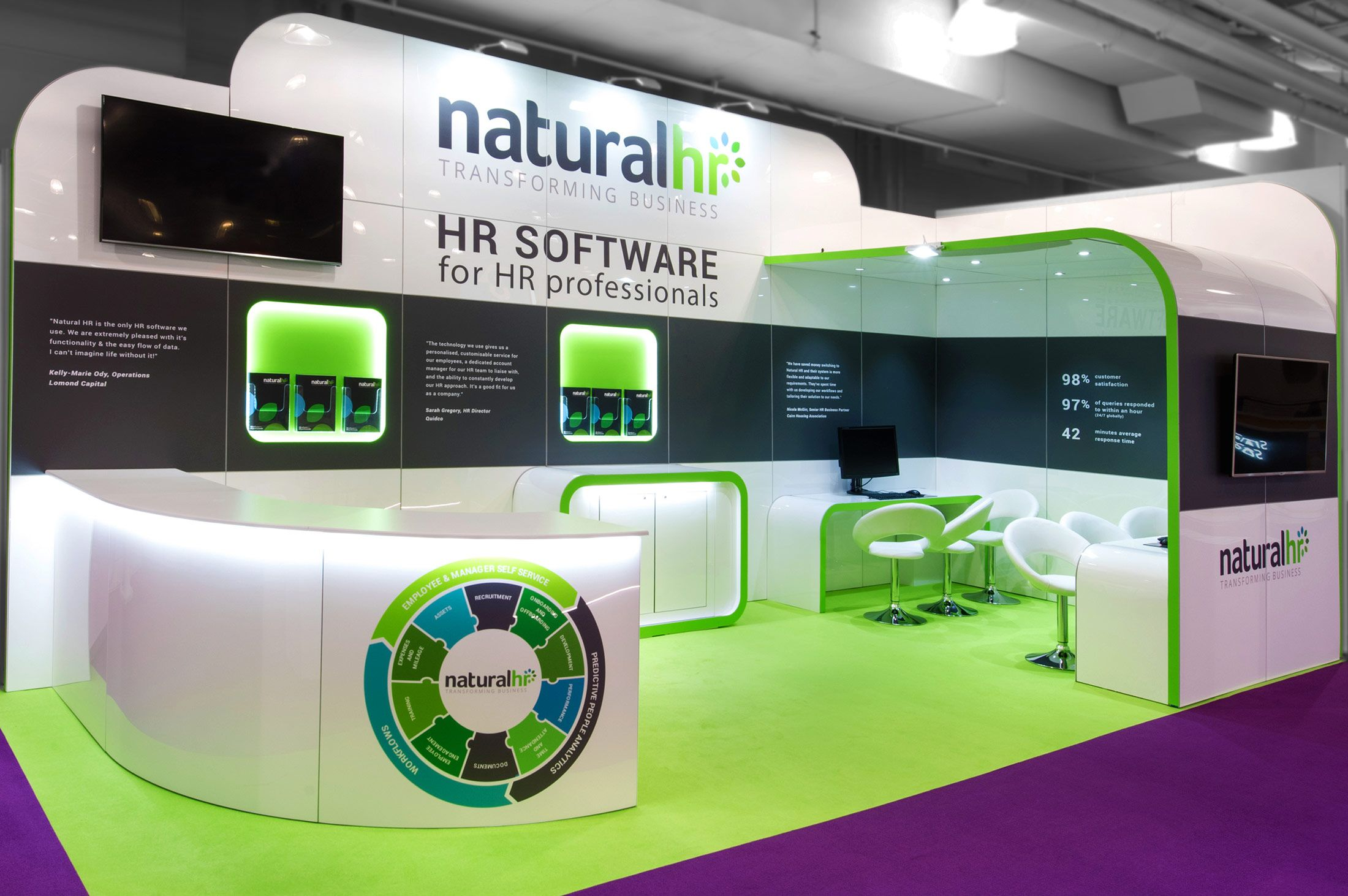 Modular Exhibition Stand Price : Modular reusable exhibition stands custom stand design build