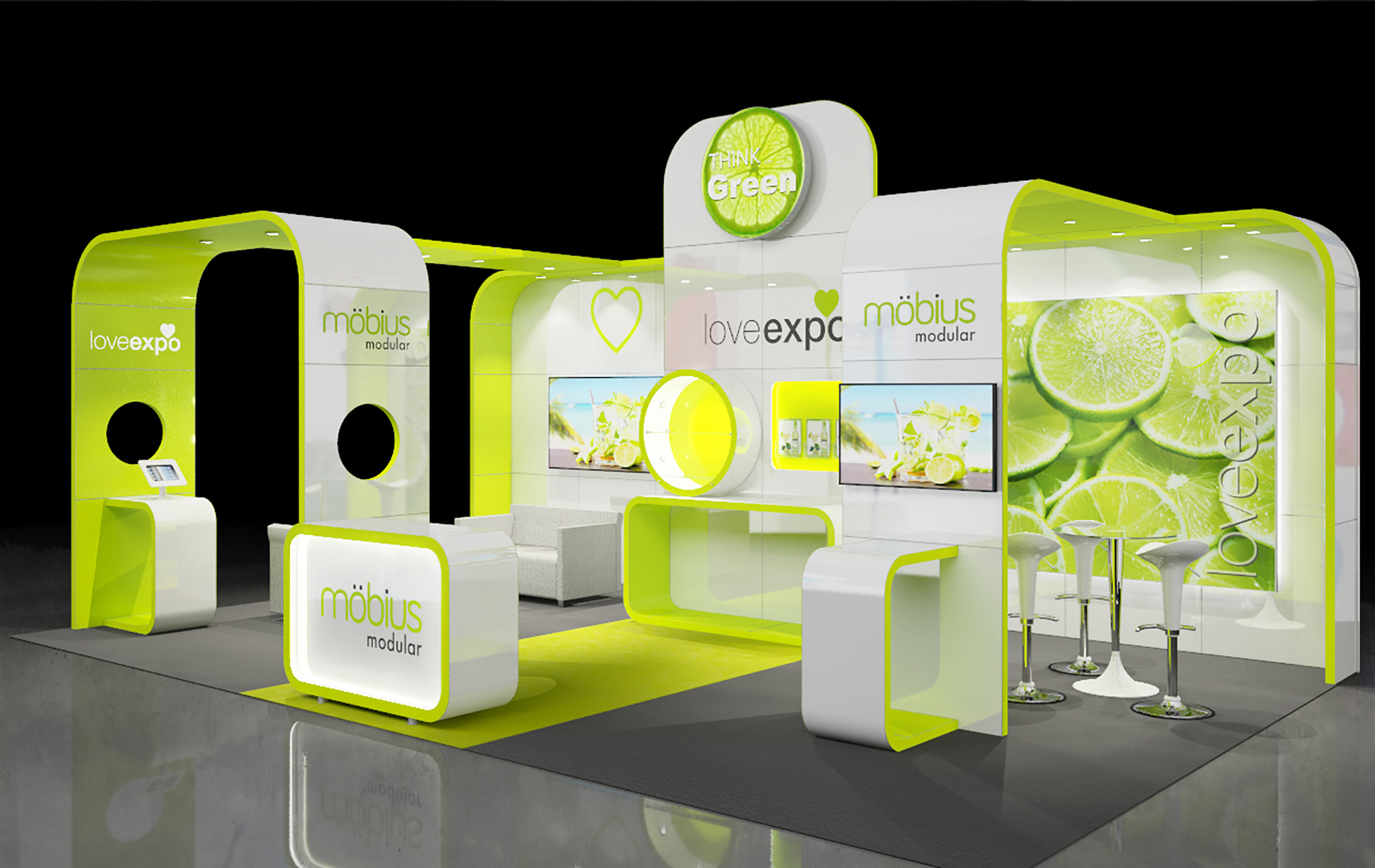 Exhibition Stand Risk Assessment Form : M custom built exhibition display stand with open