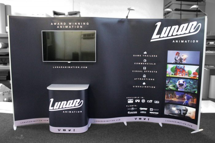 5 Panel ExpoForm Stand