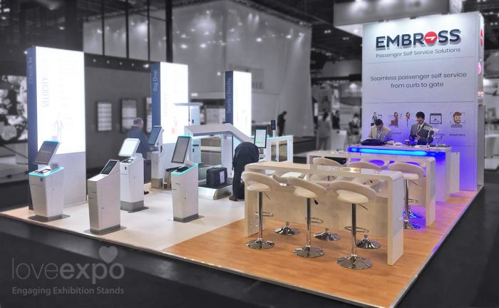 Embross 8m x 7m Passenger Terminal Expo 2019